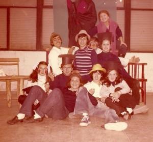 1975 El grupo de teatro del Club Juvenil Iuventus