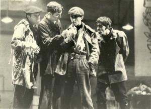 1982 Con Ferran Catalá, Salva Bolta y José Luis Saiz en FLOR DE OTOÑO