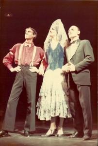 1982 Con Rafa Rodríguez y Pepe Sobradelo en FLOR DE OTOÑO