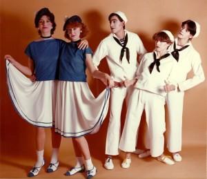 1983 Foto promocional de A LAS 5 VARIETÉS