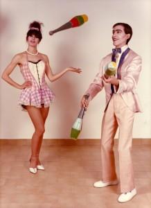 1983 Foto promocional de TRUPERÍA con Ana Campos