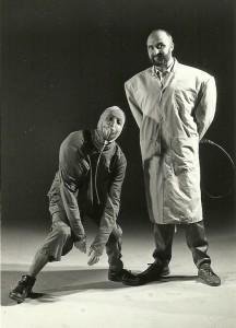 1985 Con Rafa Higón en un proyecto de espectáculo