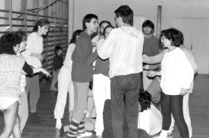 1985 Una sessió a l'Intitut Sanchis Guarner de Silla