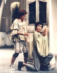 1987 Con Frasco en LA COMÈDIA DE LES EQUIVOCACIONS