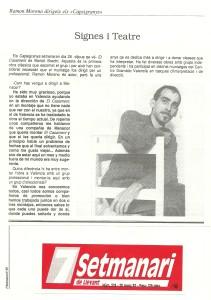 1992 Entrevista 7setmanari Nº 278 Manacor 1