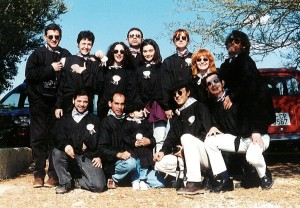 1996 L'equip de Nit golfa a Mallorca