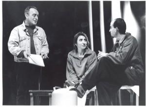 1999 Con Enric Benavent y Ester Alabor