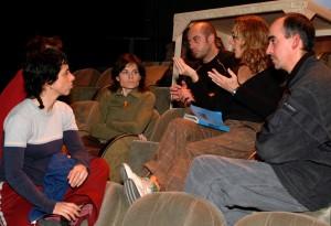 2004 El equipo de Carme Portacelli en SOPA DE POLLASTRE