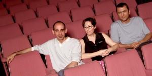 2005 Els professors, Ramon Moreno, Amparo Pedregal i Benja Domènech