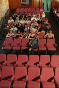 2005 En el teatre de la plaça de Silla