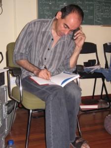 2005 Ensayando en la Escalante