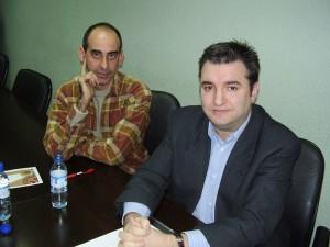 2007 Con Mikel Labiano