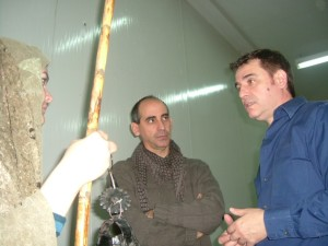 2009 Con Pascual Peris en CRUZADAS