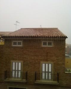 2009 Desde casa lloviendo
