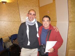 2010 Amb Jesús Padilla a la presentació del llibre de l'EMT de Silla