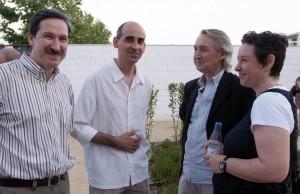 2010 Festa 25 anys EMT Silla, amb Enrique Herreras, JuanVi Martínez Luciano i Ana Gimeno