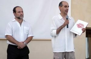 2010 Presentant el llibre 25 anys amb Francesc Baixauli