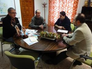 2010 Una reunió amb l'alcalde de Silla