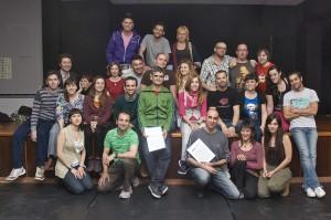 2011 Amb EL PONT FLOTANT signant una futura col·laboració