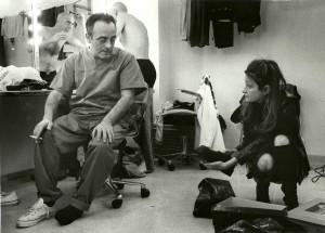 21. Rocío Cabedo probando zapato con Enric