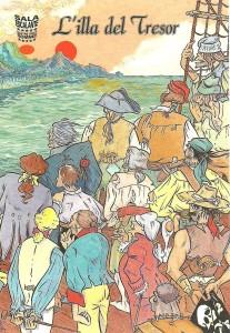 Cartell de L'ILLA DEL TRESOR obra de Sento