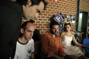 Con Cesar, Vanessa y Xavo