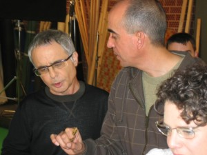 Con Ferran Torrent