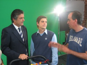 Con Francisco y Toni Agustí