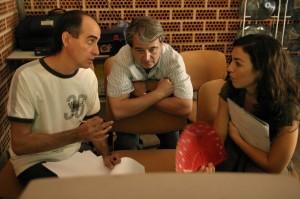 Con Toni y Begoña